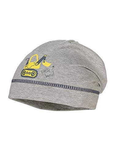 maximo Baby-Jungen Jerseymütze Mütze, Grau (Graumeliert 5), (Herstellergröße: 47/49)
