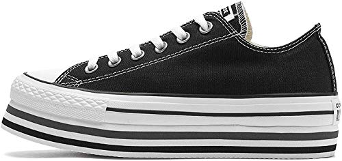 Converse Mujeres Zapatillas de Deporte Chuck Taylor All Star Platform Layer Ox