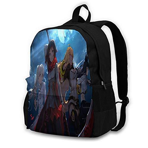 RWBY Backpack Multifunction Shoulder Bags School Bags Lightweight Backpack Bookbag Travel Hiking Daypack
