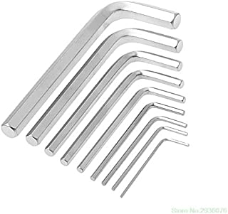 LILASTORE New Arrival 9Pcs/Set 1.5mm-10mm Hexagon Hex Allen Key Wrench Kit Spanner Repair Hand Tools Drop Shipping Support...