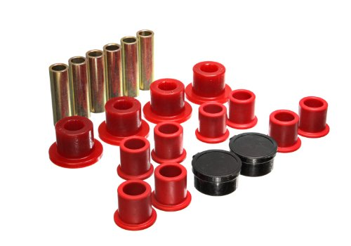 Energy Suspension 4.2154R Rear Leaf Spring Bushing Set