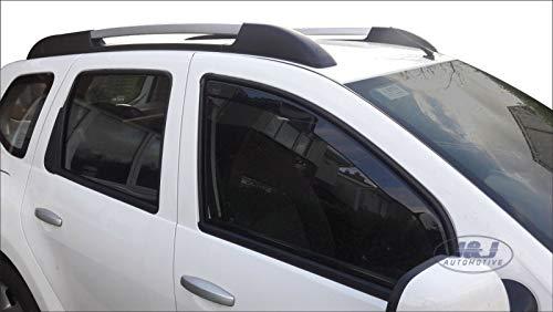 J&J AUTOMOTIVE | Deflecteurs d'air Déflecteurs de Vent Compatible avec Dacia Duster 5 Portes 2010-2017 2pcs