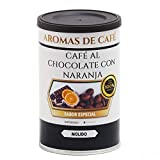 Aromas de Café - Café Tostado 100% Arábica en Grano Chocolate y Naranja/Café en Grano 100% Arábica Tostado Intensidad Suave Con Sabor Chocolate y Naranja, 100 GR