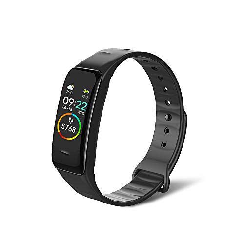 BrilliantHouse Fitness Tracker with Blood Pressure Heart Rate Blood Oxygen Meter Sleep Monitor Weather MonitorIP68 Waterproof Activity Tracker Smart Watch Pedometer Step Counter for Kids Man Women