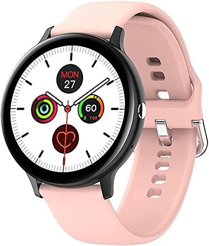 CNZZY Reloj inteligente I11 para hombre, con Bluetooth y monitor de ritmo cardíaco, para mujer, con presión arterial y oxígeno en la sangre, adecuado para iOS Android Watch