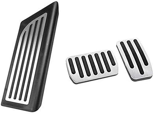 CHENGQIAN Pedale in Lega di Alluminio Acceleratore Gas Combustibile Pedale Freno Resto Pedali Tappetini Accessori Copertura Car Styling,per Tesla Model 3