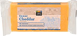 365 Everyday Value, Sharp Cheddar Bar, 8 oz