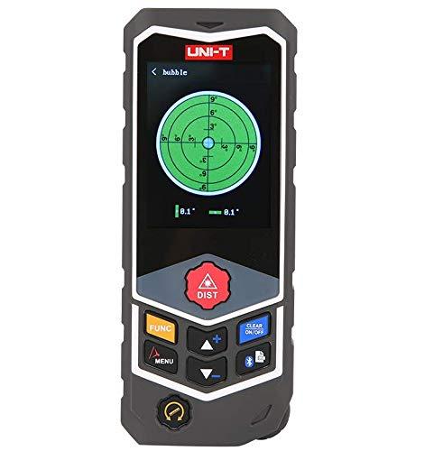 UNI-T Laser Distance Measurer with Wheel Measurer, Real-time Voice 262ft Grey Pro 80m - ElephantNum Featured