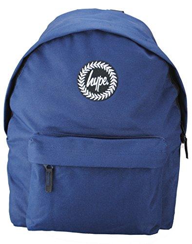 Hype, zaino –borsa a tinta unita blu–ideale per la scuola