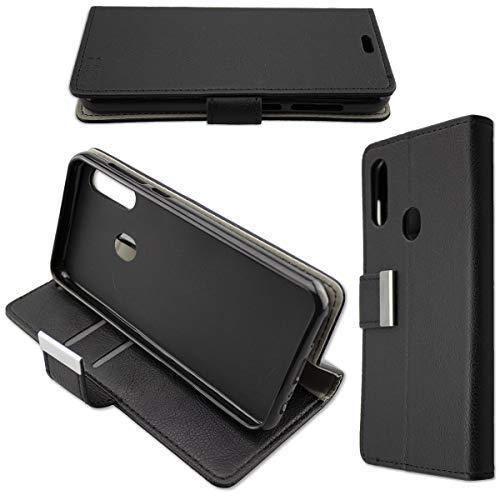 caseroxx Handy Hülle Tasche kompatibel mit UMIDIGI A3 / A3 Pro Bookstyle-Hülle Wallet Hülle in schwarz