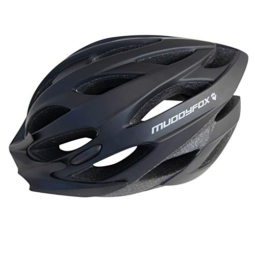 Muddyfox Helmet Protection Cycling Bicycle Bike Riding Accessories Black/Grey 55-61cm