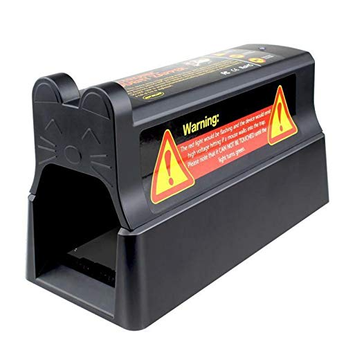 QAZEDC Trampa para Ratas Trampa para Ratones Electrónica Victor Control Plagas para...