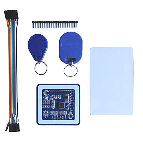 Aideepen Mini PN532 NFC RFID Reader/Writer Controller Shield Kits for Arduino PN532 Blue U