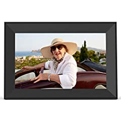 A BEAUTIFUL GIFT TO KEEP YOU CONNECTED Instantly send photos from your phone to an Aura digital photo frame through our easy-to-use app; Invite unlimited friends and family to share pictures to your frame or send photos to their frames; iOS/Android p...
