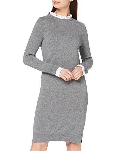 Esprit 090EE1E304 Vestido, 019/Gunmetal 5, XXL para Mujer