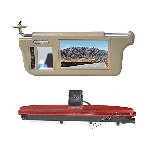 Vardsafe VS618V Visor de Sol Monitor de Espejo retrovisor & cámara de Marcha atrás para Iveco Daily (2014 - Actual)