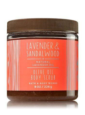 Bath & Body Works Olive Oil Body Scrub Lavender & Sandalwood