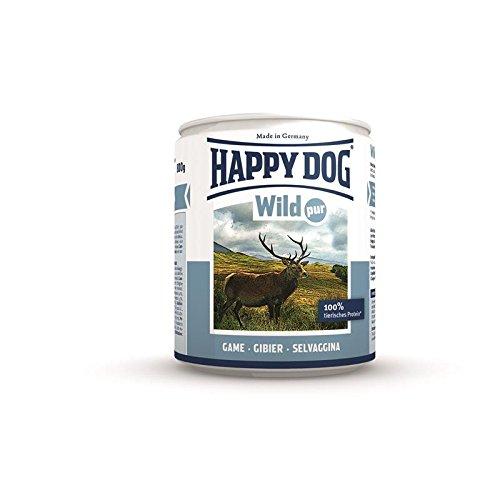 test Glücklicher Hund Wild Par |  Nassfutter 6X800g Deutschland
