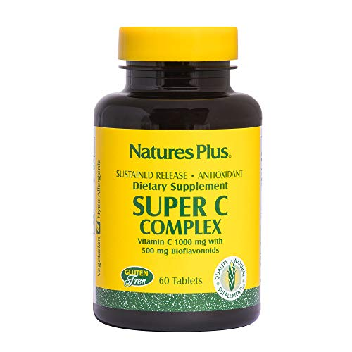 Natures Plus SUPER C COMPLEX SUSTAINED RELEASE TABLETS 60