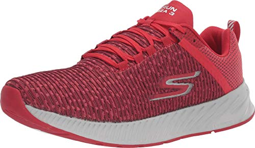 Skechers Men's GOrun Forza 3 Stability Shoe (13, Red/Gray)