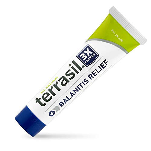 Terrasil® Balanitis Relief - Patented All-Natural, Gentle, Soothing Skin Relief Ointment for Relief from Irritation, Itch, Redness and Inflammation, Balanitis Symptoms - 14g