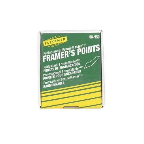 Fletcher-Terry FrameMaster Picture Framing Driver Points (Permanent)