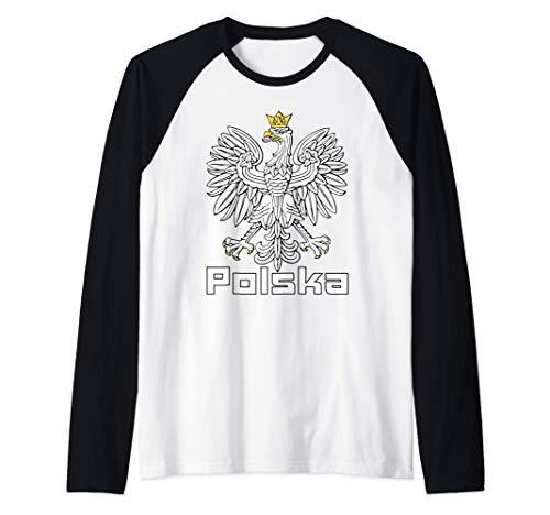 Polska Polen Adler Ich liebe Polen Kocham Polske Dumny Polak Raglan