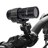 スポーツカメラ 1080P 30FPSアクションカメラ 自転車用ドライブレコーダー 広角レンズカメラ HD懐中電灯 防水バイクカメラ 屋外サイクリング