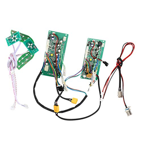 Tablero de control de scooter de equilibrio universal de 36 V, tablero de circuito de control, controlador de sistema dual Potente para almacenar y apoyar el scooter de equilibrio eléctrico(#1)