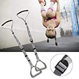Indoor pull-up rings, children's fitness rings Trapeze Bar Pull Up Gym Rings Kids