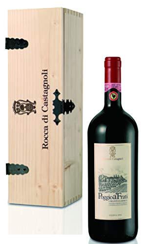 Rocca di Castagnoli Chianti Classico Riserva Poggio A'Frati Magnum in Holzkiste 2004 trocken (1 x 1.5 l)