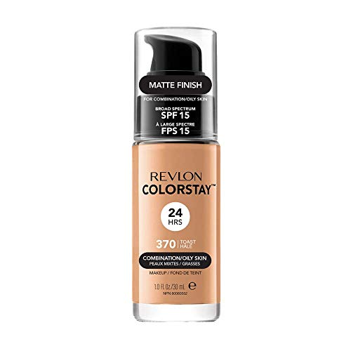 Revlon ColorStay Base de Maquillaje piel mixto/graso FPS15 (#370 Toast) 30ml