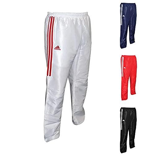 adidas Track Suit Pants Pantalones de chándal, Unisex Adulto, Blanco, 152