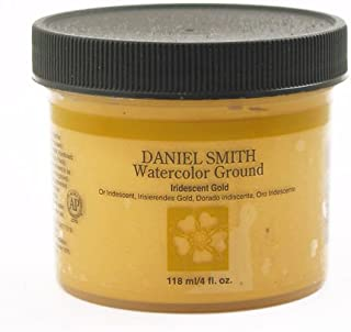 DANIEL SMITH 284055012 Watercolor Gound, 4oz, Iridescent Gold