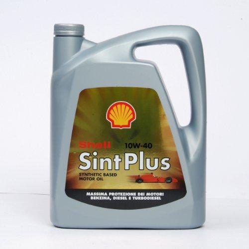 Olio Shell Sint Plus 10w40 4 L Lubrificante auto