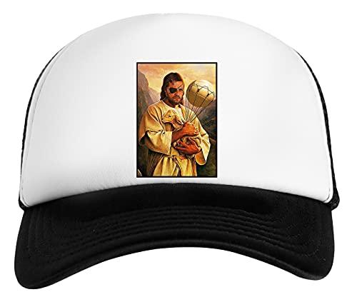 Veneno Jesús Serpiente Gorra De Béisbol Unisex Niños Blanca Negra White Black Kids Baseball Cap