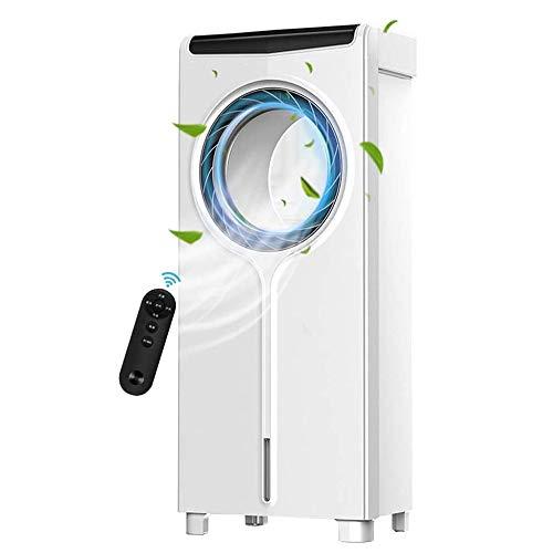 FUJGYLGL Refrigerador evaporativo portátil silencioso del refrigerador de Aire del Ventilador del acondicionador de Aire sin Hojas de Cubierta Home Office dormitorios (Tamaño: 30 * 20 * 71.5cm)