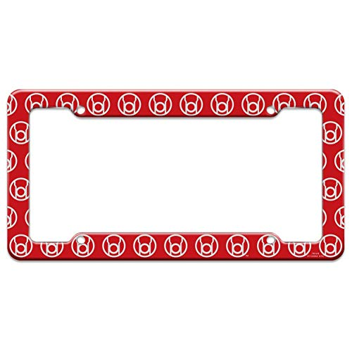 Graphics and More Green Lantern Blackest Night Red Lantern Logo License Plate Tag Frame