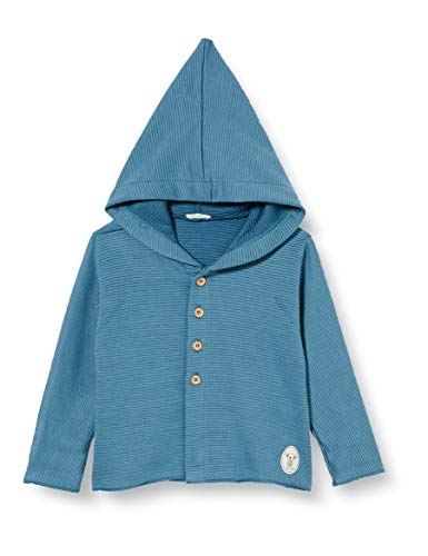 United Colors of Benetton Baby-Jungen 3A4AMM279 Pullover, Blau 904, 62 cm