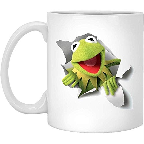 Porselein Mok O-Liefde Aangepaste Kermit De Kikker Novelty Koffie Witte Thee Keramische (Twee Zijden) Porselein Mok Geschenk Koffie Mok Keramische Mok Porselein Cup 330Ml