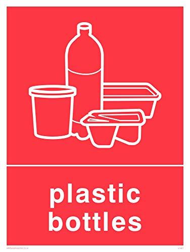 Viking signos ij1421-a3p-ac recycling-plastic botellas Sign, compuesto de aluminio, 400mm H x 300mm W