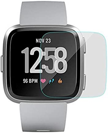 Plus 0.3mm Pro+ Tempered Glass Screen Protector with Packaging Kit for Fitbit Versa