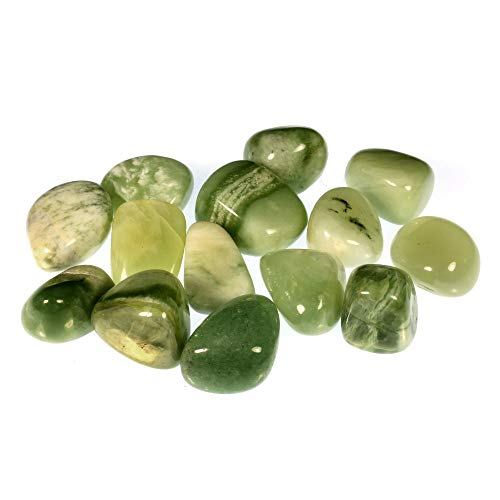 CrystalAge New Jade Tumble Stones (20-25mm) - Pack of 10