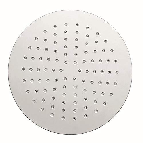 Douchekop 8,5 inch hoge druk muur monteren enkele functie regenval douchekoppen Ultea slanke douchekop chroom afwerking eenvoudig te installeren