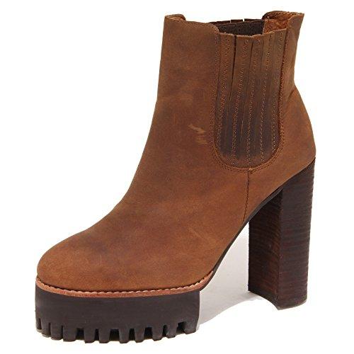 Jeffrey Campbell 8026N Stivaletto Vashon Marrone Tronchetto Donna Boots Women [41]