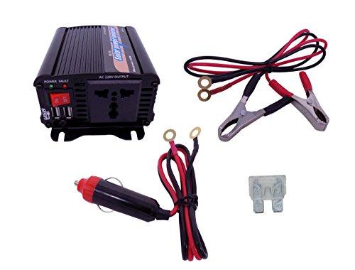 Convertisseur Transformateur puissance de l'onduleur 300W DC 12V to AC 230V 240V Chargeur Convertisseur de tension Allume Cigare