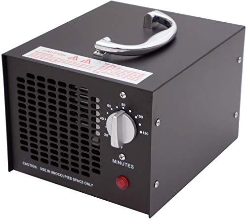 Raxinbang Purificador de Aire Ozono Comercial Generador De Aire Industrial Purificador De Moho Humo De Olor De La Cocina del Hogar Coches Barco 3,5 G/H