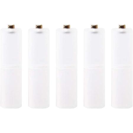 エネループ・エネロング・アルカリ電池対応!単4電池⇒単3電池に変換!単3形スペーサー5個入りパック
