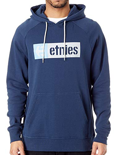 Etnies Hoody New Box Po Blau Gr. L
