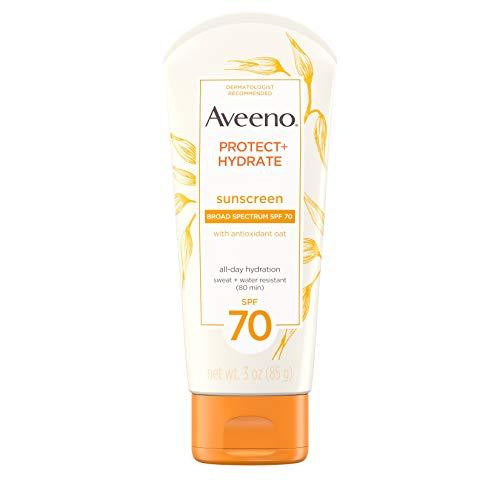 Aveeno Protect + Hydrate Moisturizing Sunscreen Lotion